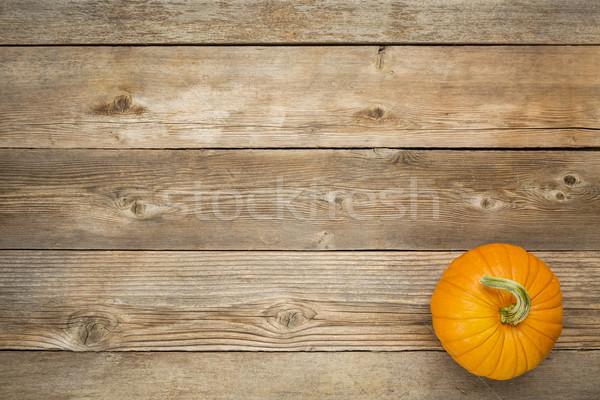 Autunno zucca rustico legno copia spazio Foto d'archivio © PixelsAway