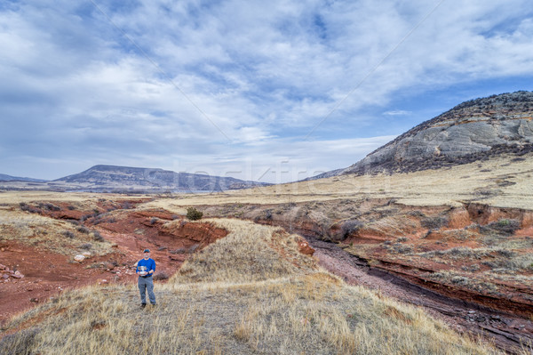 drone pilot at Colorado foothills Stock photo © PixelsAway