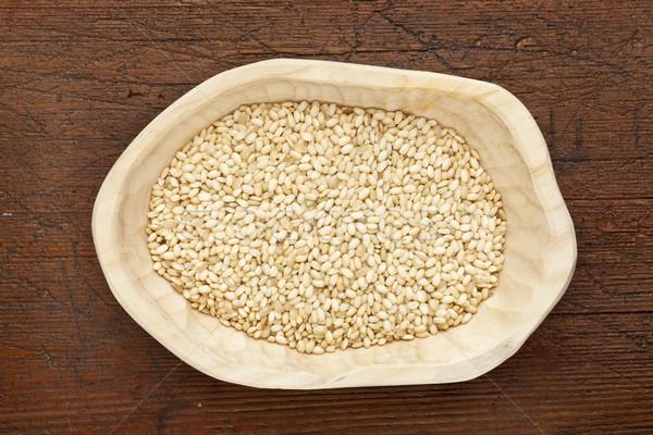 sweet brown rice Stock photo © PixelsAway