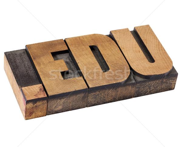 dot edu - internet domain Stock photo © PixelsAway