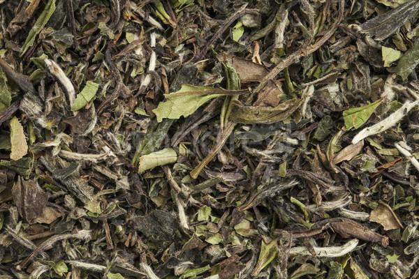 Organisch witte thee textuur Stockfoto © PixelsAway