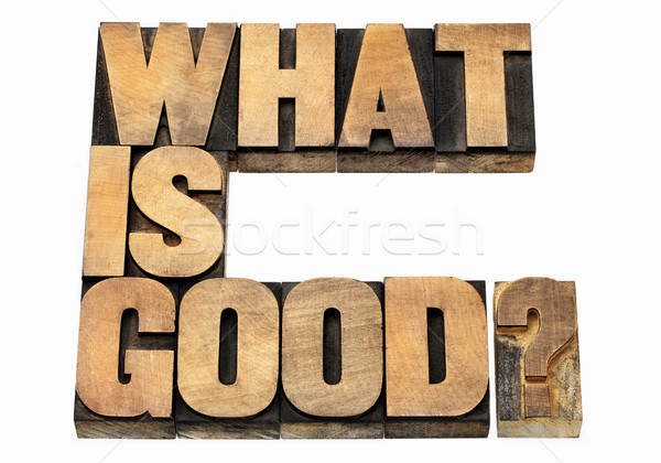 what is good question Stock photo © PixelsAway