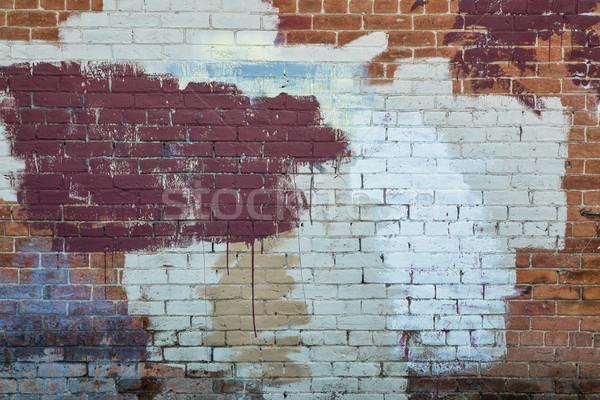 painted brick wall texture Stock photo © PixelsAway