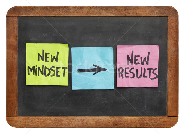new mindset and results  Stock photo © PixelsAway