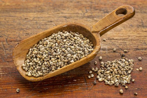 hemp seeds scoop Stock photo © PixelsAway