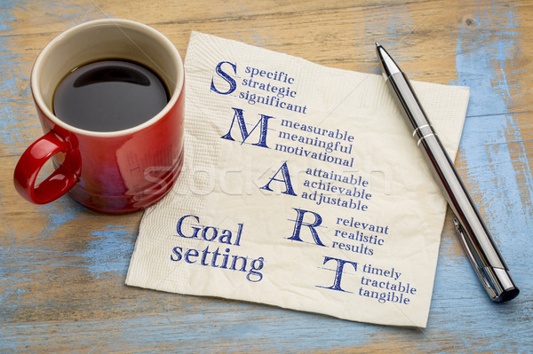 smart goal setting concept Stock photo © PixelsAway