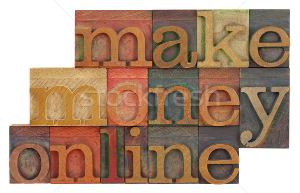 make money online Stock photo © PixelsAway