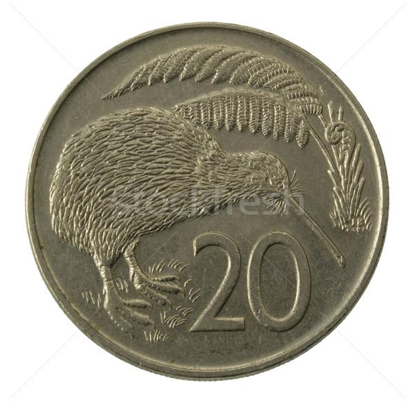 kivi bird on Nea Zealand coin Stock photo © PixelsAway