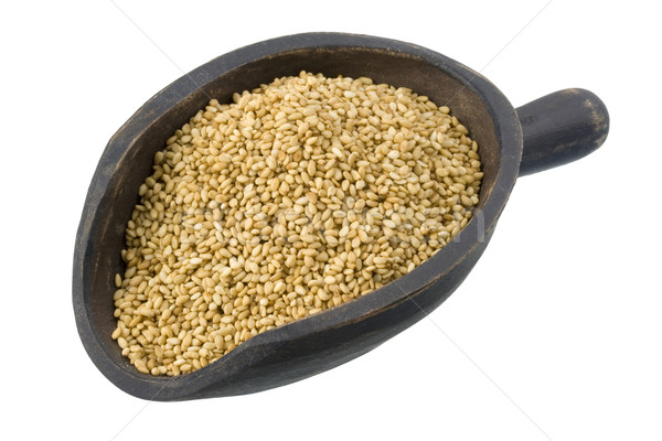 scoop of sesame seeds Stock photo © PixelsAway