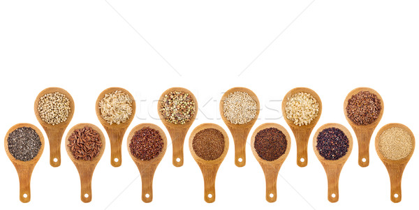 gluten free grains and seeds  abstract Stock photo © PixelsAway
