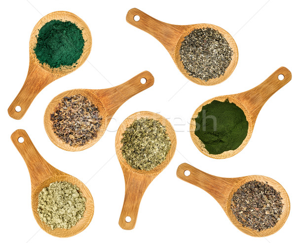 seaweed and algae nutrition supplements Stock photo © PixelsAway