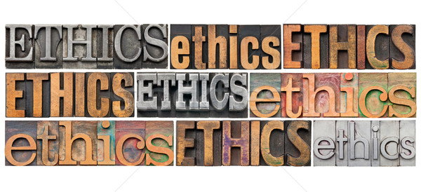 ethics word abstract Stock photo © PixelsAway