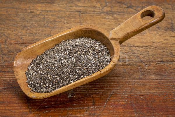 scoop of chia seeds Stock photo © PixelsAway