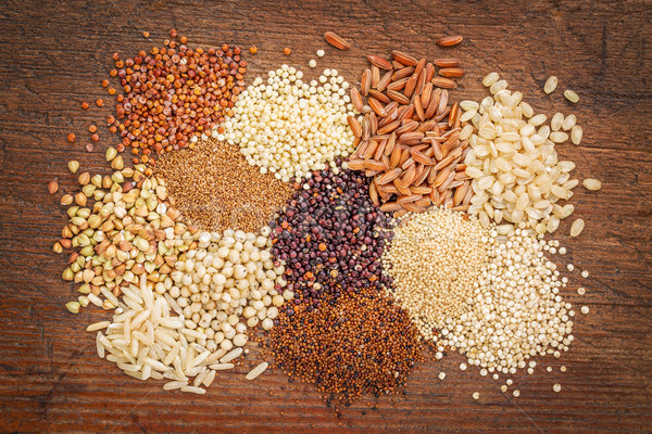 gluten free grains abstrtact Stock photo © PixelsAway