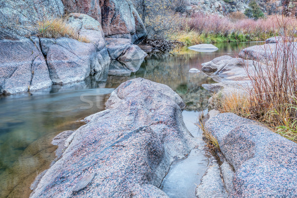 mountain stream in northern Colorado Stock photo © PixelsAway