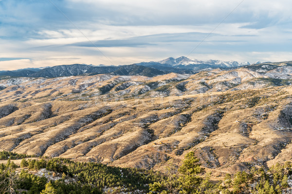 Longs Peak and Colorado foothills Stock photo © PixelsAway