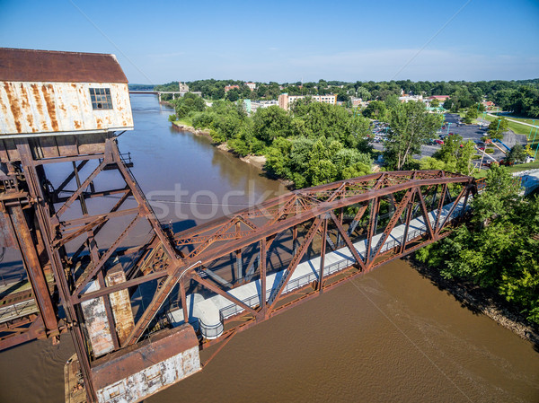 Katy Railroad  Bridge  at Boonville Stock photo © PixelsAway