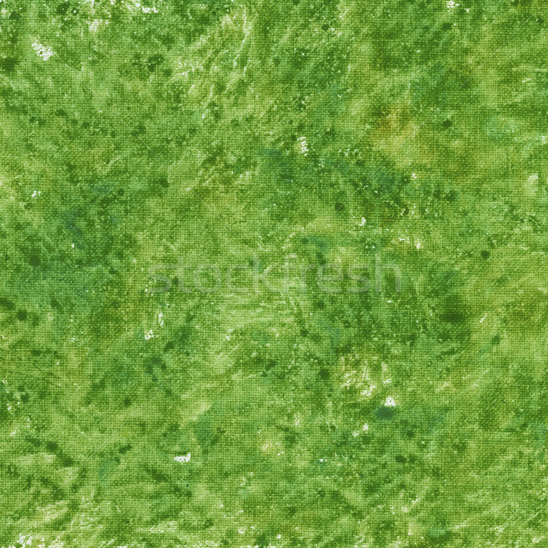 green patchy abstract on canvas Stock photo © PixelsAway