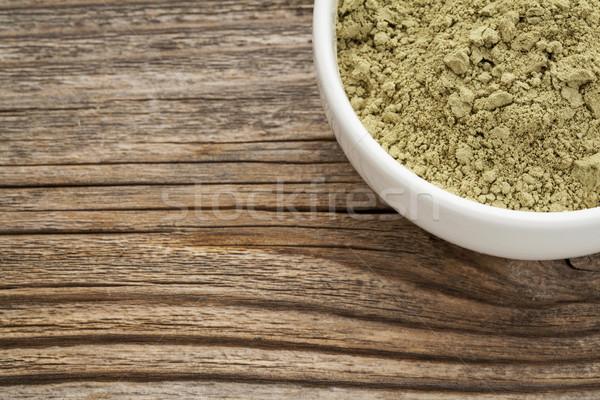 Toz ulaşmak kalsiyum demir vitamin Stok fotoğraf © PixelsAway