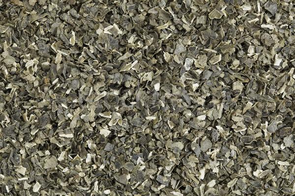Wodorost suszy tekstury diety herb odżywianie Zdjęcia stock © PixelsAway