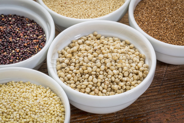 sorghum gluten free grain Stock photo © PixelsAway
