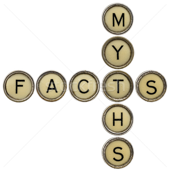 facts and myths crossword Stock photo © PixelsAway