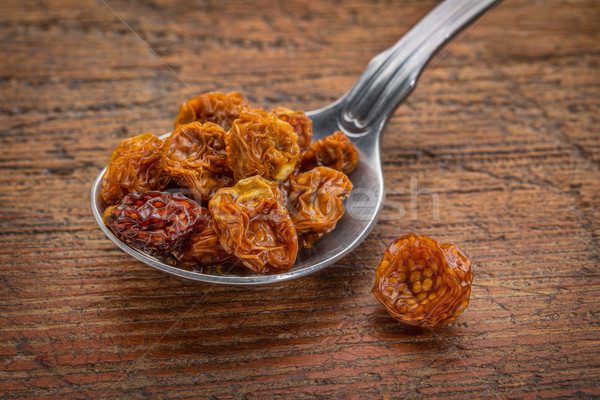 dried goldenberries on tablespoon Stock photo © PixelsAway