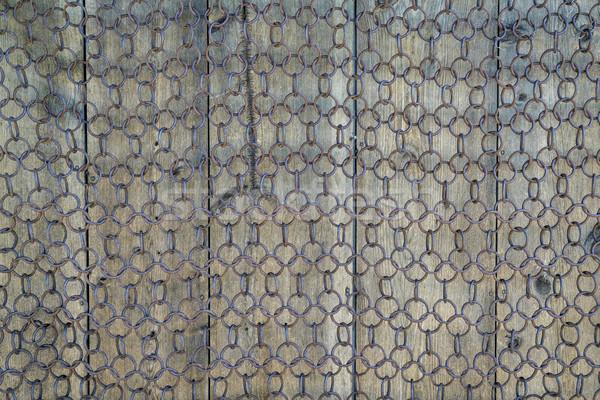 vintage chain mesh Stock photo © PixelsAway