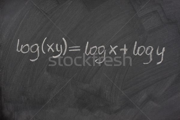 Fórmula escuela pizarra reducción multiplicación Foto stock © PixelsAway