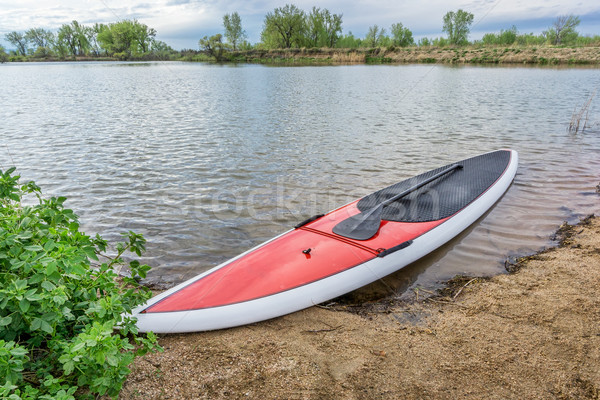 stand up paddleboard Stock photo © PixelsAway