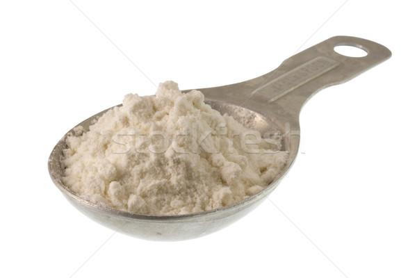 Blanche blé farine autre poudre aluminium Photo stock © PixelsAway
