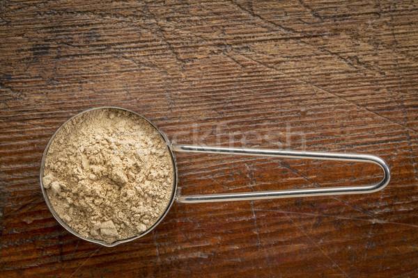 красный корень металл черпать Сток-фото © PixelsAway