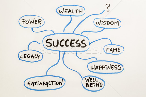 meaning of success mindmap sketch Stock photo © PixelsAway