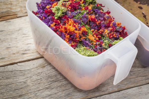 juicer vegetable pulp Stock photo © PixelsAway
