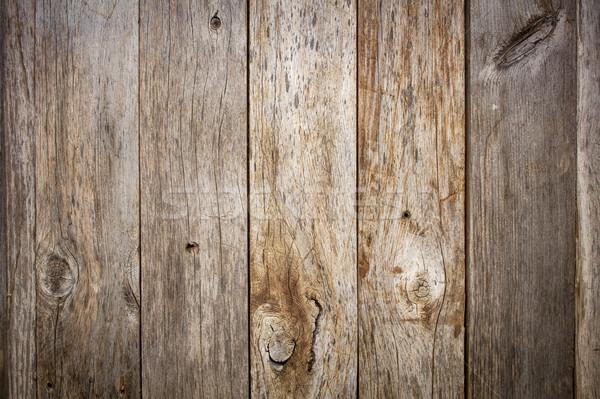 Grunge verweerde schuur hout nagel vintage Stockfoto © PixelsAway