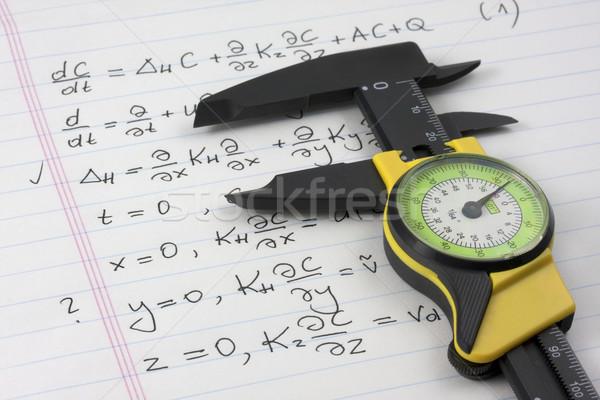 Mathématiques mathématiques physique apprentissage mathématique Photo stock © PixelsAway