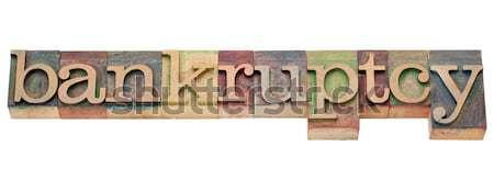 Heerlijk woord typografie geïsoleerd tekst Stockfoto © PixelsAway