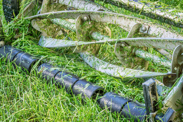 blades hand lawn mower  Stock photo © PixelsAway