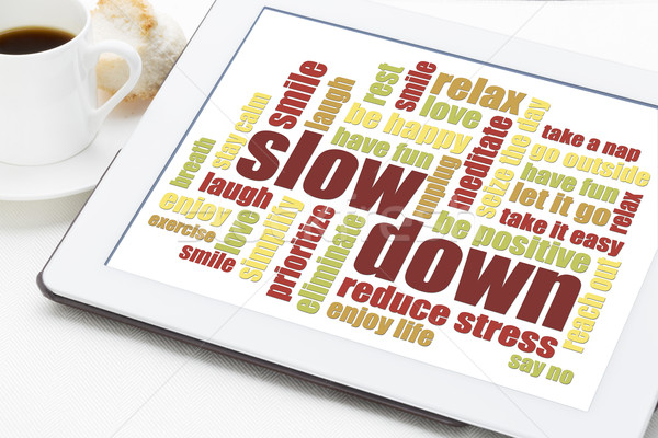reducing stress tips Stock photo © PixelsAway