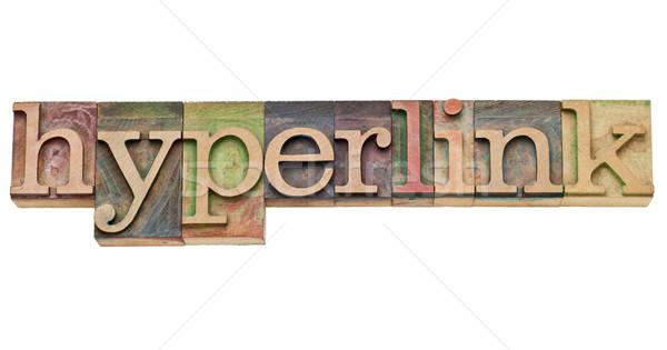 hyperlink - internet concept Stock photo © PixelsAway