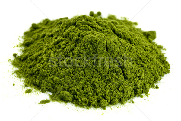 freeze-dried organic wheat grass powder Stock photo © PixelsAway