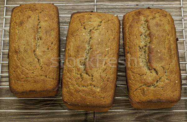 Stockfoto: Glutenvrij · brood · vers · gebakken · bereid · kokosnoot