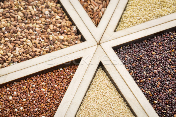 Glutenvrij variëteit Rood zwarte bruin Stockfoto © PixelsAway