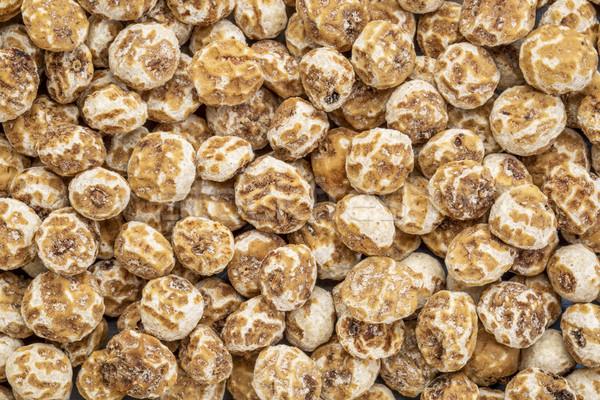Organiczny obrane Tygrys orzechy bogate źródło Zdjęcia stock © PixelsAway