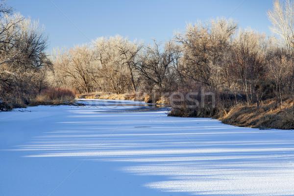 winter river Stock photo © PixelsAway