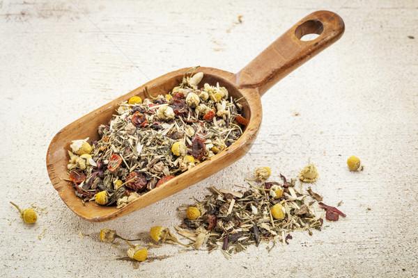 scoop of herbal tea Stock photo © PixelsAway