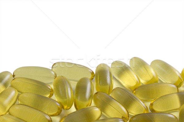 Fish oil capsules Stock photo © PixelsAway