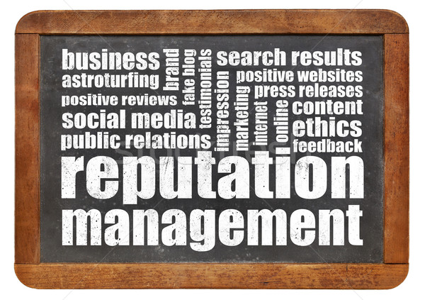 reputation management  Stock photo © PixelsAway