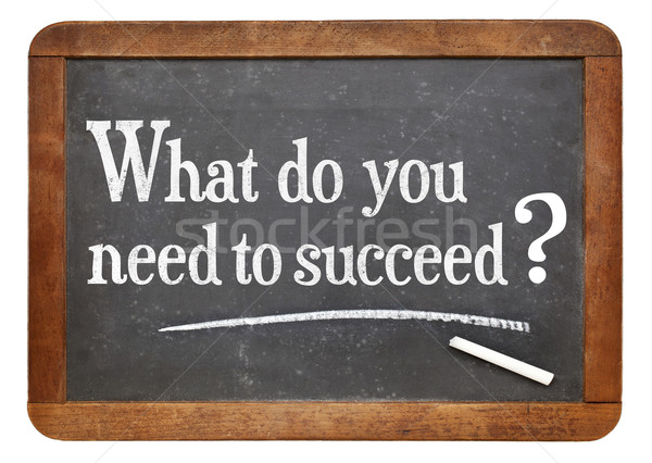 What do you need to succeed? Stock photo © PixelsAway
