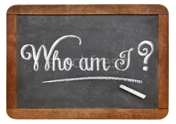 Who am I philosophical question Stock photo © PixelsAway